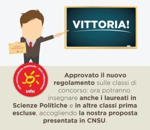 Immagine insegnamento SciPol CNSU