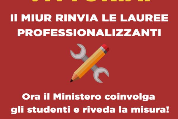 stop lauree professionalizzanti