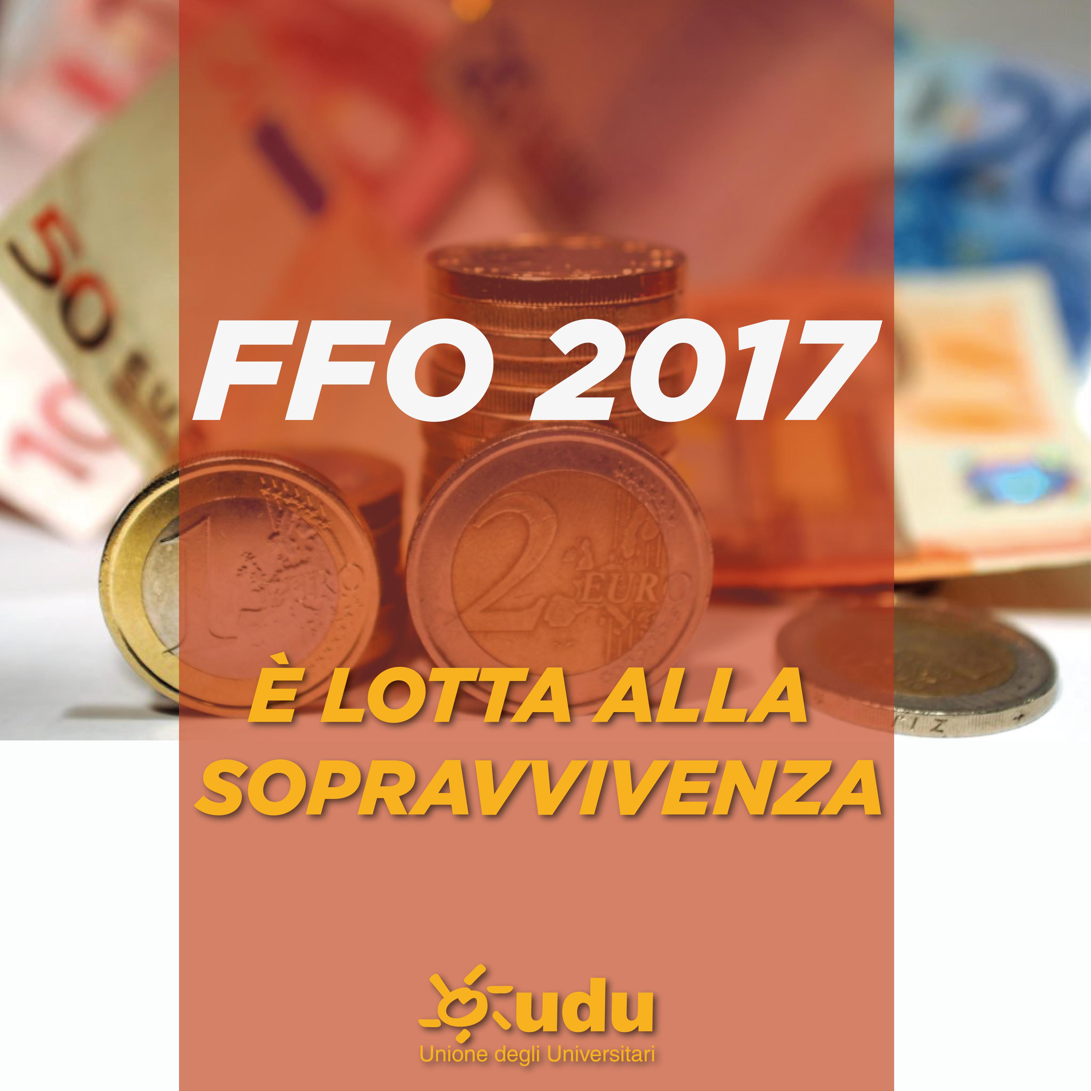 FFO 2017: MIUR ANNUNCIA AUMENTO, MA PER GLI ATENEI E' LOTTA ALLA SOPRAVVIVENZA!