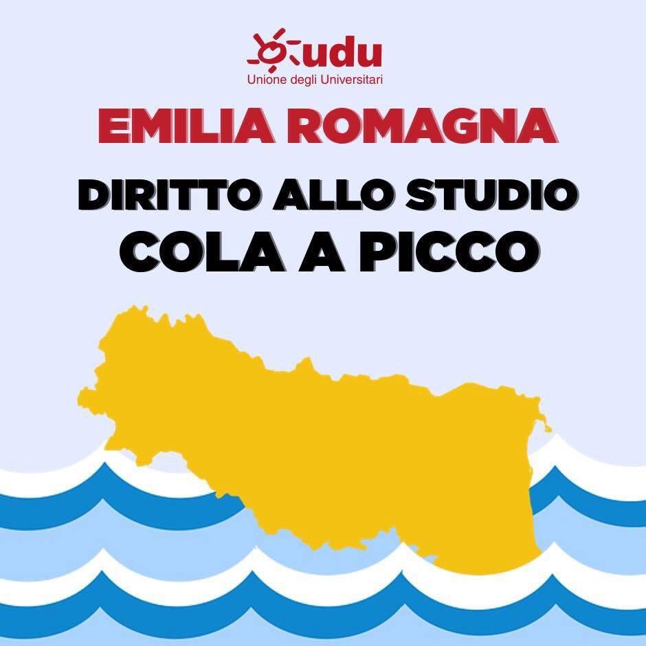 Emilia Romagna: diritto allo studio cola a picco!