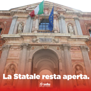 Statale di Milano - Studi Umanistici facoltà aperta